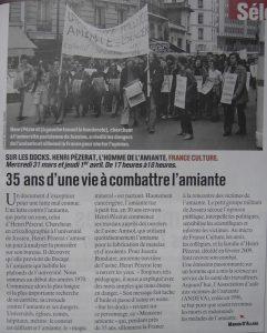 """""""L'humanité"""" 25 mars 2010"""